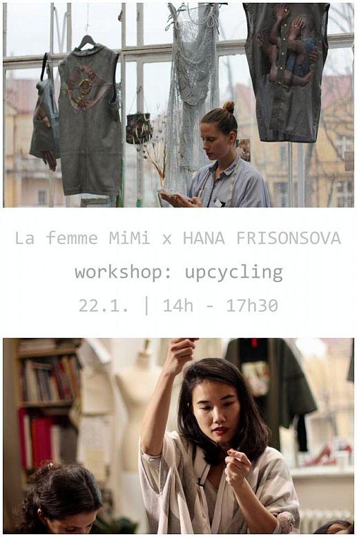 La Femme MiMi x Hana Frišonsová: workshop upcycling Oficiální zdroj: La Femme MiMi