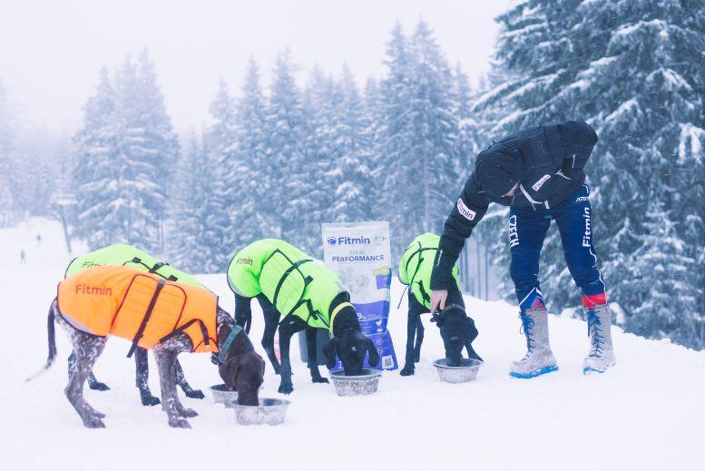 Fitmin tým na Mistrovství světa federace IFSS on-snow  Foto: Fitmin, oficiální zdroj