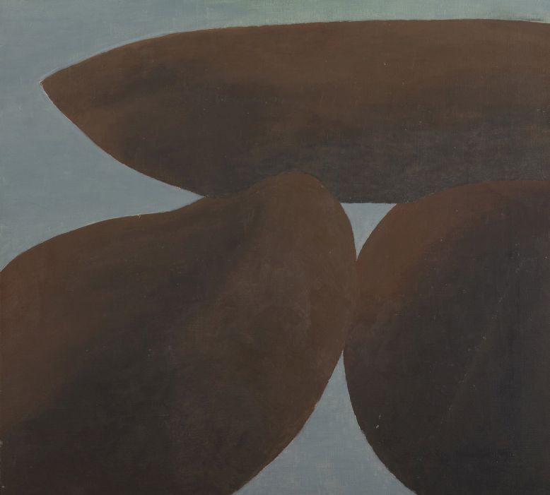 Jiří John - Pierres, signováno a datováno vlevo dole John 69, olej/plátno, 55 x 60 cm Foto: Dorotheum, oficiální zdroj