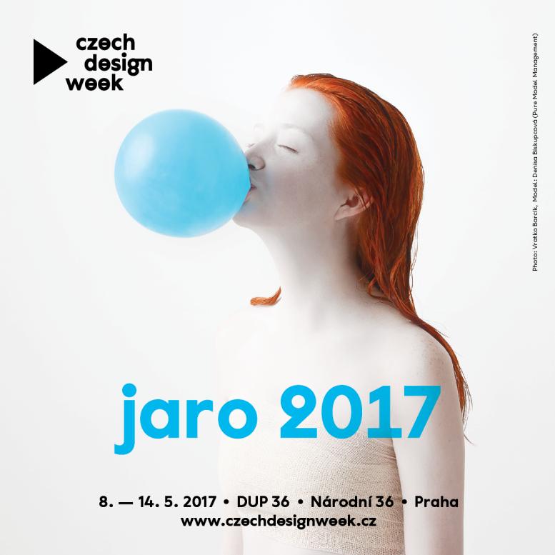 Czech Design Week - plakát Oficiální zdroj: CDW