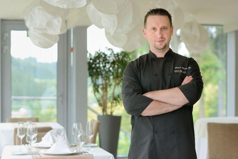 Pavel Václavík, šéfkuchař Spa hotelu Lanterna Foto: lanterna.cz, oficiální zdroj