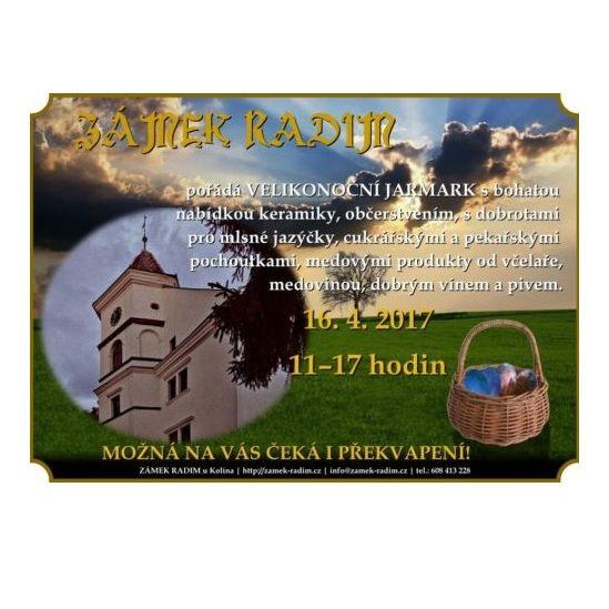 Velikonoční jarmark - plakát Oficiální zdroj: Zámek Radim
