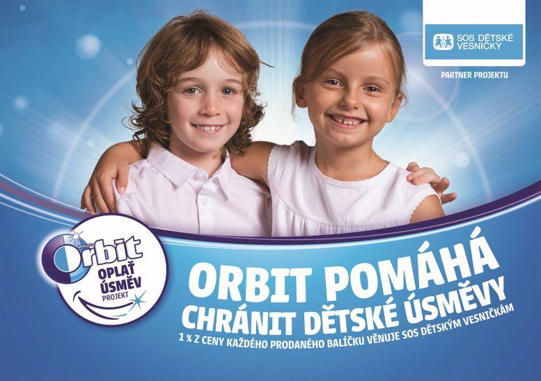 Kampaň Oplať úsměv Oficiální zdroj: Orbit