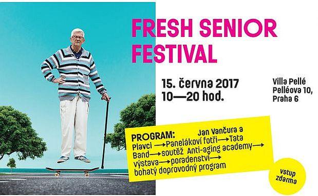Fresh senior festival 2017 - plakát Oficiální zdroj: Porte