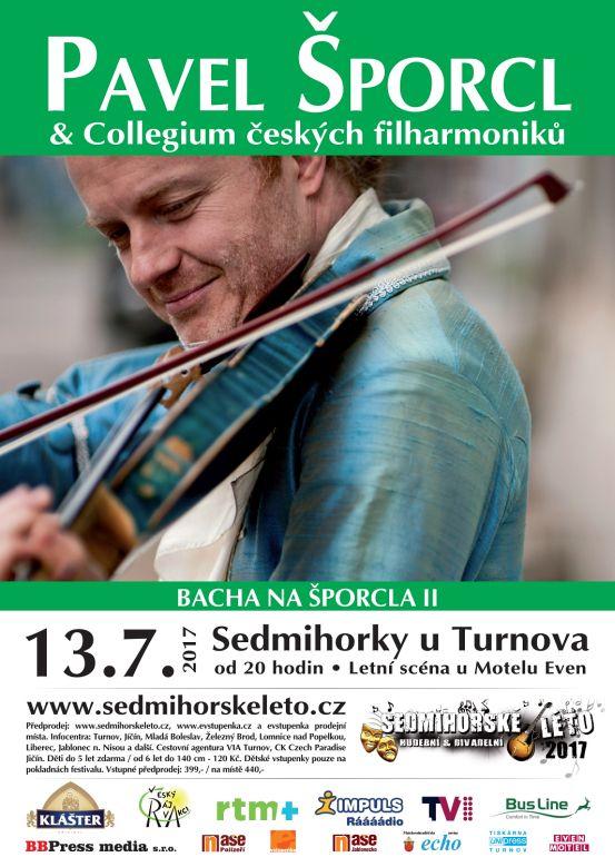 Sedmihorské léto: Bacha na Šporcla - plakát Oficiální zdroj: Sedmihorské léto
