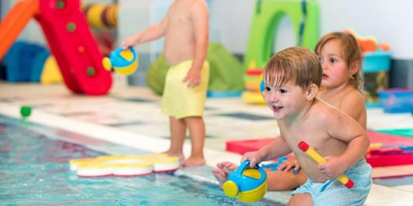 Plavání dětí Foto: Baby Club Juklík, oficiální zdroj