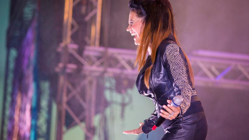 Na festivalu vystoupí Lucie Bílá s Arakainem Foto: Hrady CZ, oficiální zdroj