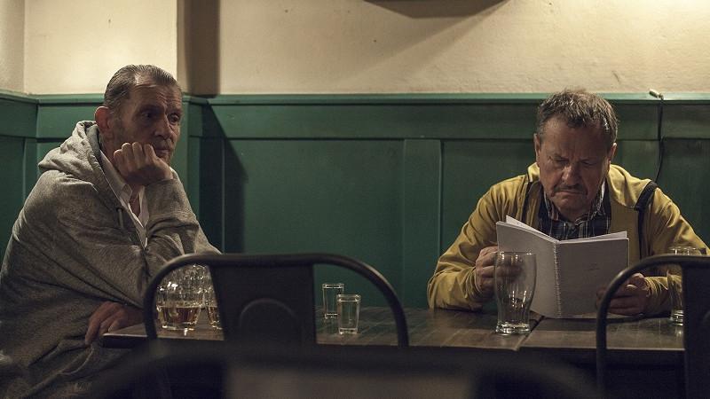 Jiří Schmitzer a Miroslav Krobot během natáčení filmu Kvarteto Foto: Evolution Films/Falcon