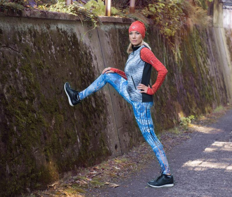 Funkční sportovní oděv značky Nessi Sportswear Foto: ©Roman Hryciow - roman@fotobcs.pl/NESSI SPORTSWEAR, oficiální zdroj