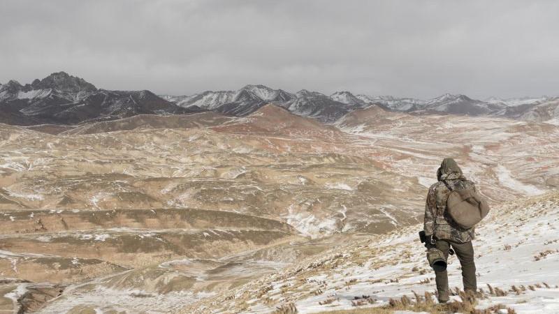 Vincent Munier: Pohled na typickou krajinu tibetské náhorní plošiny Nikon D4 , AF-S NIKKOR 24-120MM F/4G ED VR Foto: Vincent Munier/Nikon, oficiální zdroj