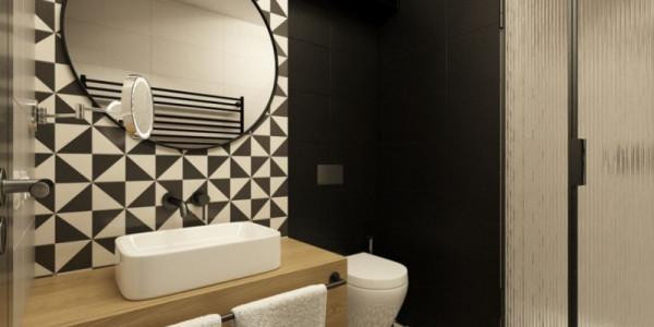 Koupelna hotelového pokoje MEET ME 23 Foto: MEET ME 23, oficiální zdroj