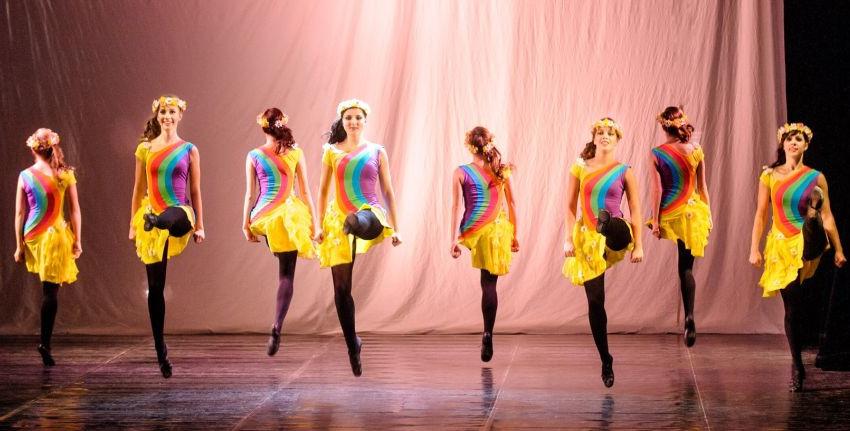 Irské tance Foto: Rinceoirí, oficiální zdroj