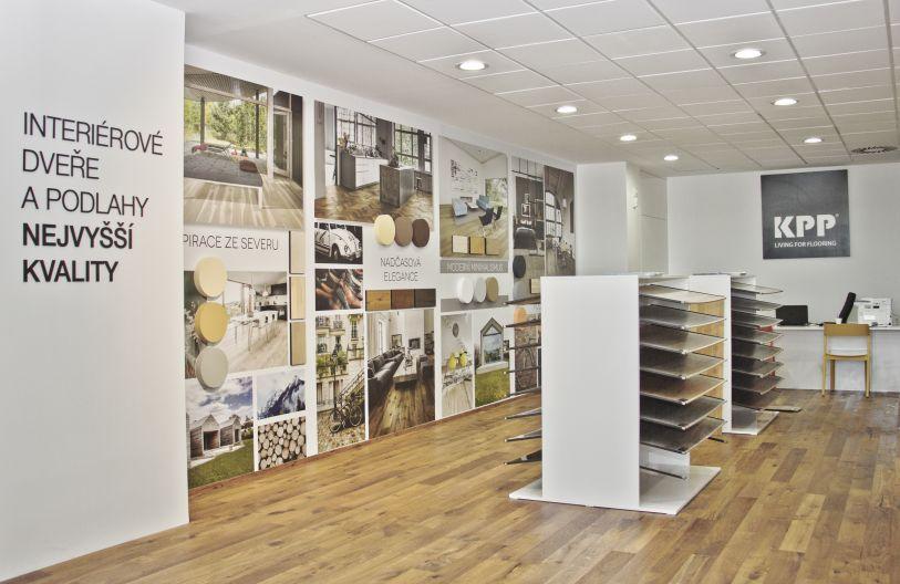 Nový showroom Kratochvíl parket profi v Čestlicích  Foto: KPP, oficiální zdroj