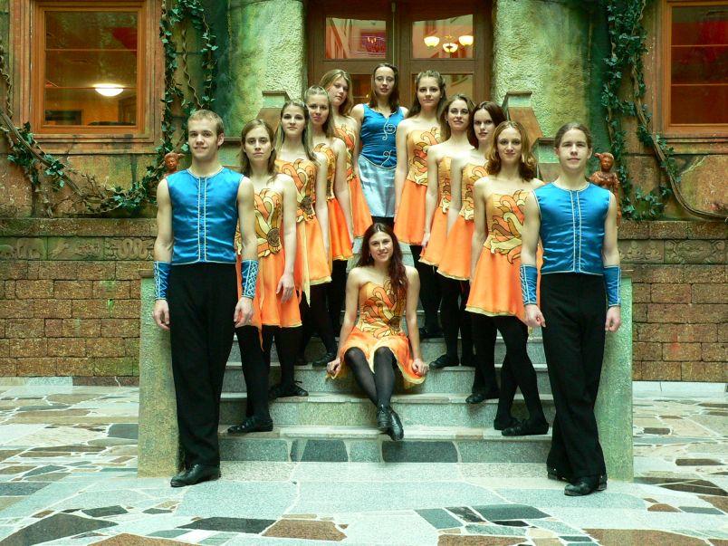 Klub irských tanců Rinceoirí Foto: Rinceoirí, oficiální zdroj