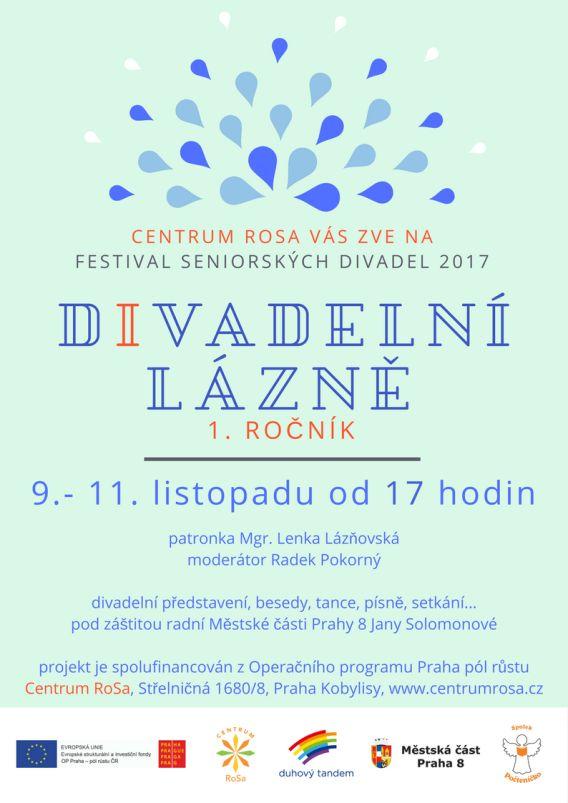 Divadelní lázně - plakát Oficiální zdroj: RoSa