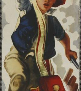 Jeden zbídníků, režie Taťjana Lukaševič, SSSR, 1937, autor plakátu neznámý, 1948.