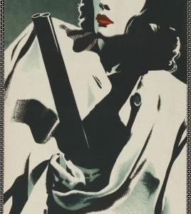 Laura, režie Otto Preminger, USA, 1944, autorka plakátu Eva Feiglová, po 1945.