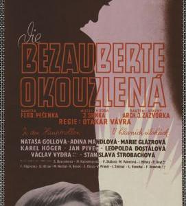 Okouzlená, režie Otakar Vávra, Československo, 1942, autor plakátu Ateliér Burjanek, 1942.