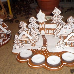 Vánoční výstava_autor Božena Marcínová