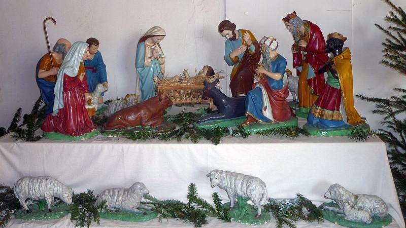 Betlém z kostela v Bylanech Foto: e-Newspeak
