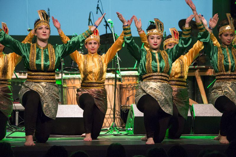 Songfest 2018: skupina indonéských tanců Kintari Foto: Songfest.cz, oficiální zdroj