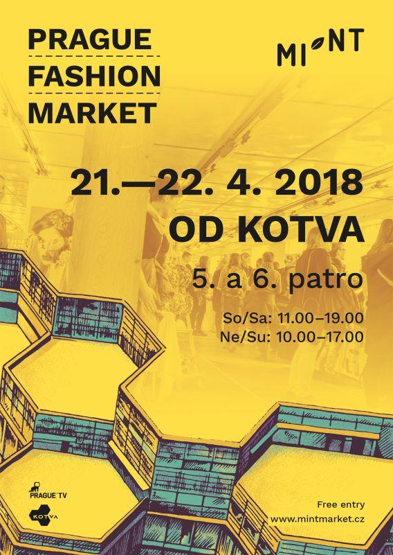 MINT: Prague Fashion Market zakotví v OD Kotva - plakát Oficiální zdroj: MINT