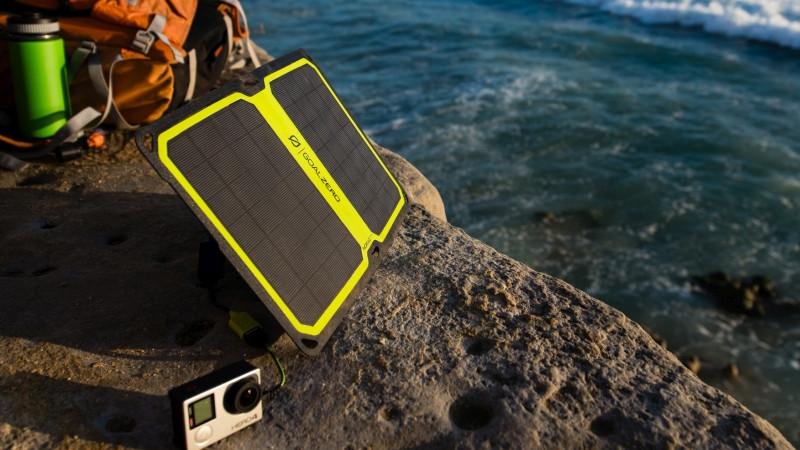 Mobilní solární panely Foto: ©TravisBurkePhotography/Goal Zero, oficiální zdroj