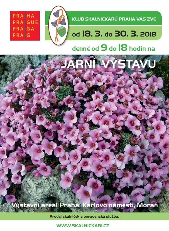 Výstava skalniček- plakát, Oficiální zdroj: KSP