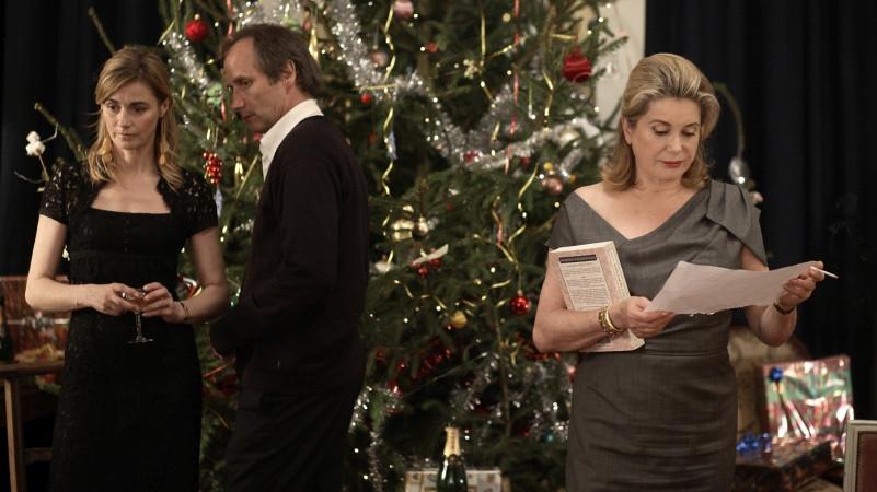 Vánoční příběh: Anne Consigny, Hippolyte Girardot, Catherine Deneuve Foto: MFF Praha - Febiofest, oficiální zdroj