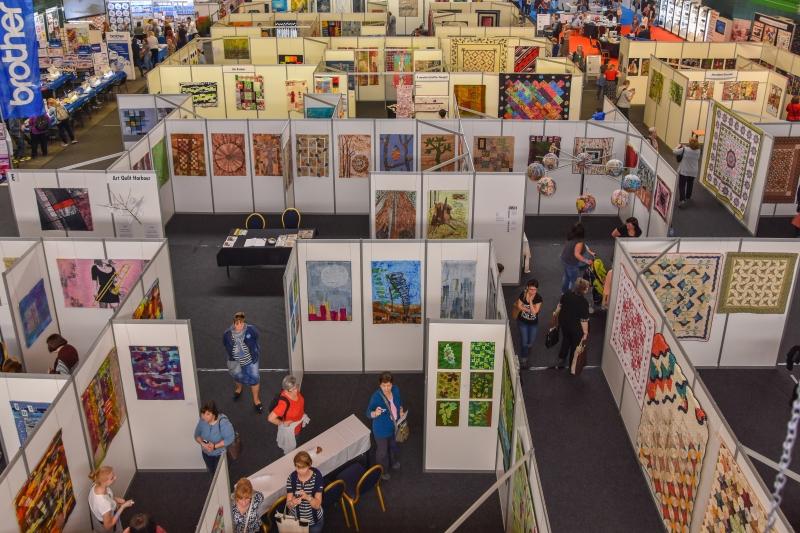 Atmosféra na Prague Patchwork Meeting Foto: PPM, oficiální zdroj