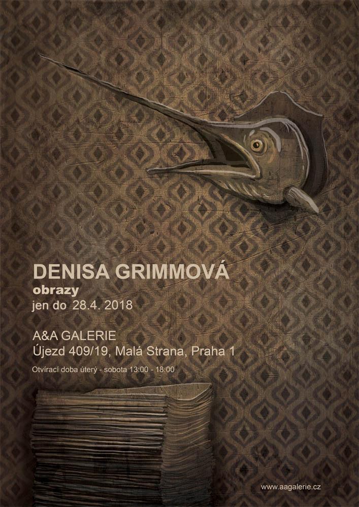 A&A Galerie Denisa Grimmová - obrazy, plakát Oficiální zdroj: A&A Galerie