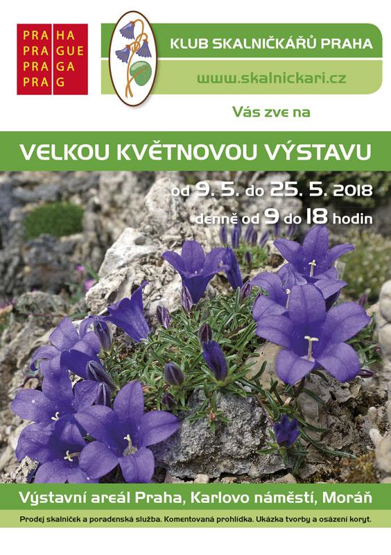 49. Májová výstava skalniček - plakát Oficiální zdroj: KSP