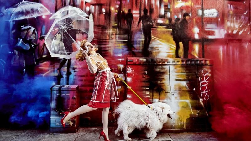 Autor nástěnné malby: Dan Kitchener Foto: Julia Kennedy pomocí fotoaparátu D850 s objektivem AF-S NIKKOR 20 mm f/1,8G ED, Londýn 2018 Oficiální zdroj: Nikon
