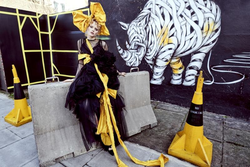 Autor nástěnné malby: Otto Schade Foto: Julia Kennedy pomocí fotoaparátu D850 s objektivem AF-S NIKKOR 20 mm f/1,8G ED, Londýn 2018 Oficiální zdroj: Nikon