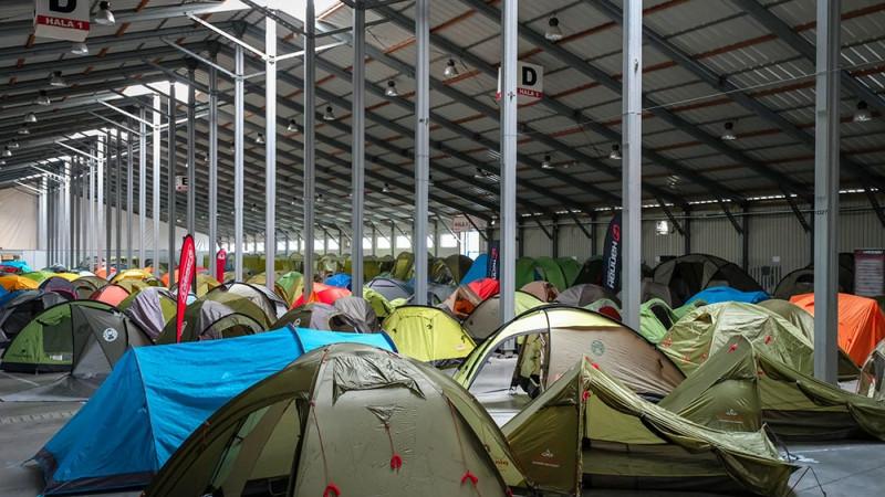 Výstava stanů - stanové městečko Foto: Pavel Ovsík/4camping.cz, oficiální zdroj