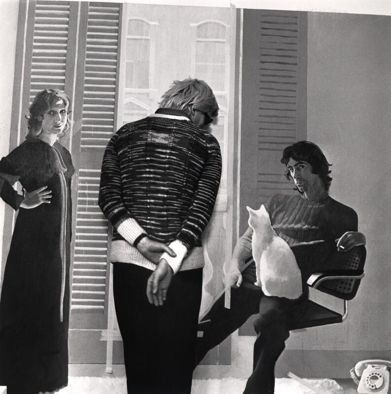 Cecil Beaton: David Hockney, 1970, bromografie Oficiální zdroj: Museum Kampa