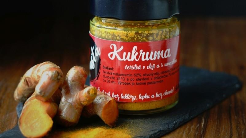 Kurkumová pasta Foto: Hradecké delikatesy, oficiální zdroj