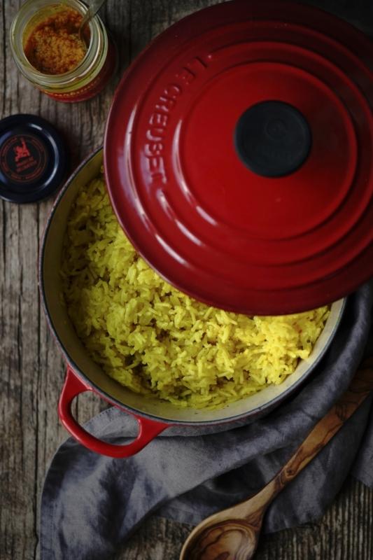 Kurkumová rýže Foto: Hradecké delikatesy, oficiální zdroj