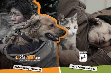 Dobročinný bazar pro zvířata bezdomovců - detail Oficiální zdroj: Psí žovot