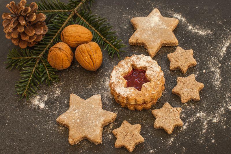 Bezlepkové cukroví s ořechy Foto: Svět Cukrářů