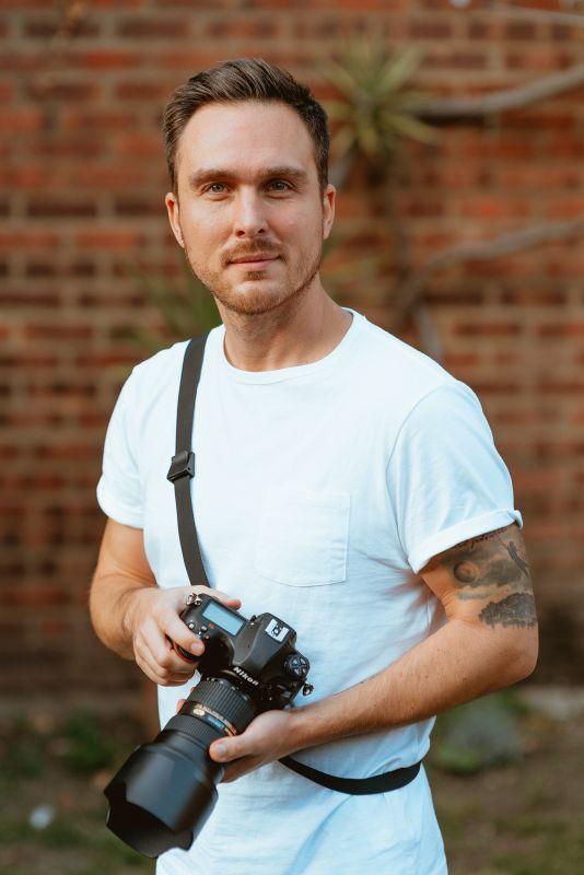 Fotograf Tomáš Sentpetery  Foto: Nikon, oficiální zdroj