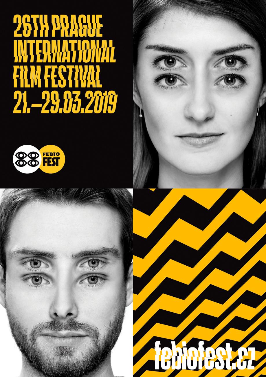 26. MFF Praha - Febiofest: vizuál Oficiální zdroj: MFF Praha - Febiofest