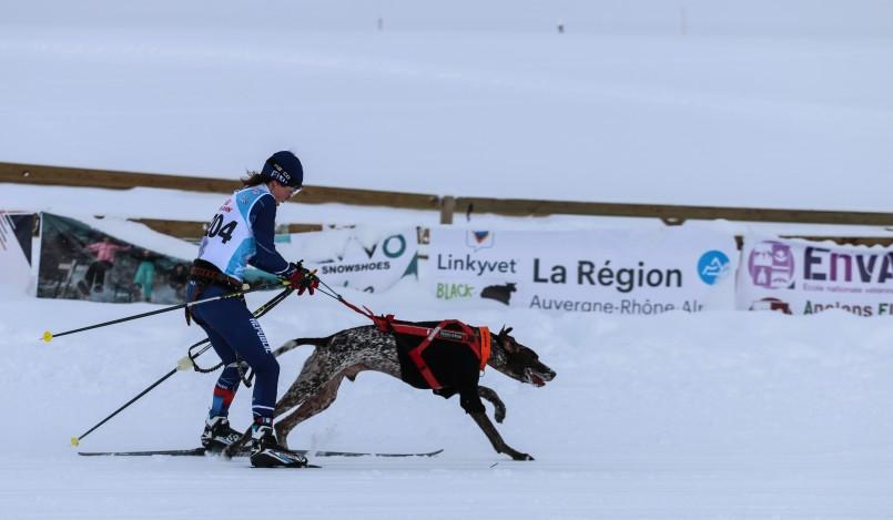 Mistrovství světa psích spřežení: Martina Štěpánková Foto: Fitmin, oficiální zdroj