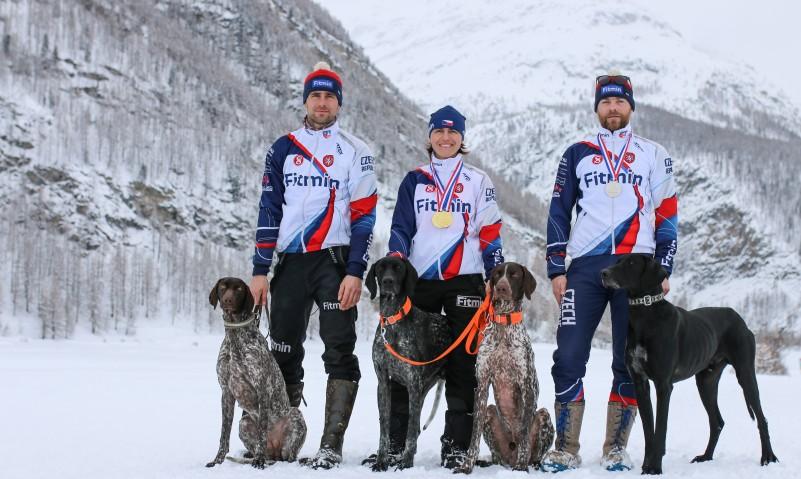 Mistrovství světa psích spřežení: tým Fitmin Foto: Fitmin, oficiální zdroj