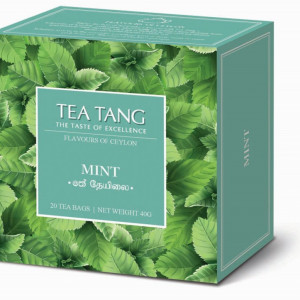 Cajova-zahrada_Tea Tang_Ceylon_ Mint, 20x1,5g, cena 69 Kč