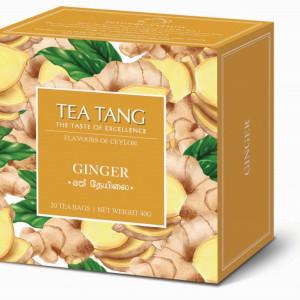 Cajova-zahrada_Tea Tang_Ceylon_Zazvor, 20x1,5g, cena 69 Kč