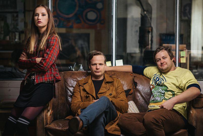 Eliška Křenková, Kryštof Hádek a Jan Strejcovský: Všechno je jinak  Foto: MFF Praha - Febiofest, oficiální zdroj