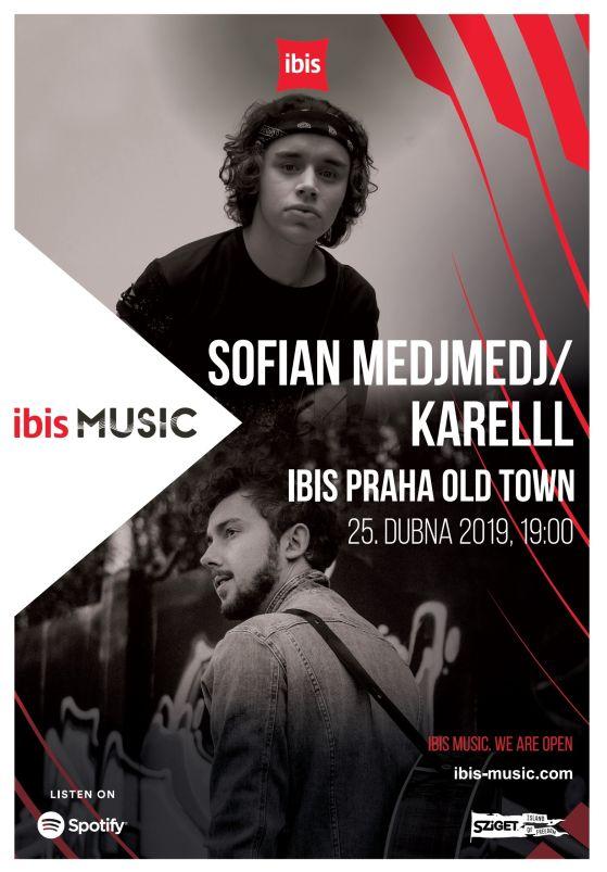 ibis Music - plakát Foto: ibis, oficiální zdroj