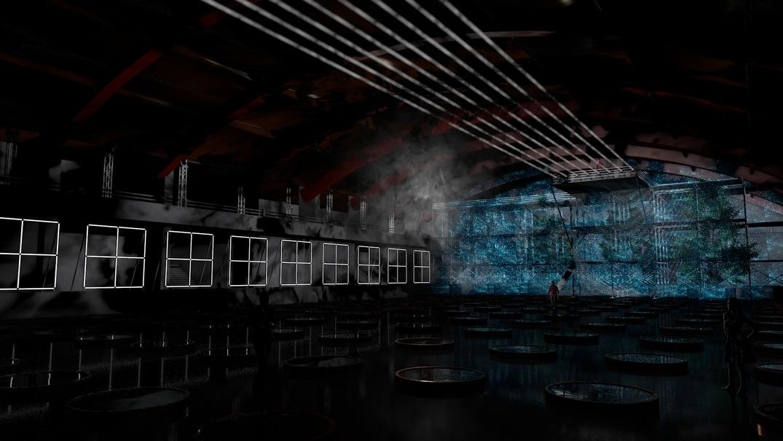 Pražské Quadriennale 2019: Malá sportovní hala Foto: PQ, oficiální zdroj