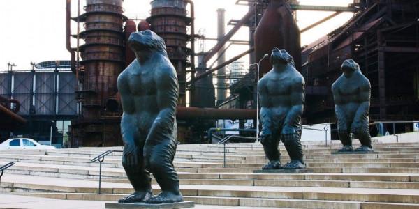 Sculpture Line: Liu Ruowang - Original Sin Foto: Sculpture Line, oficiální zdroj